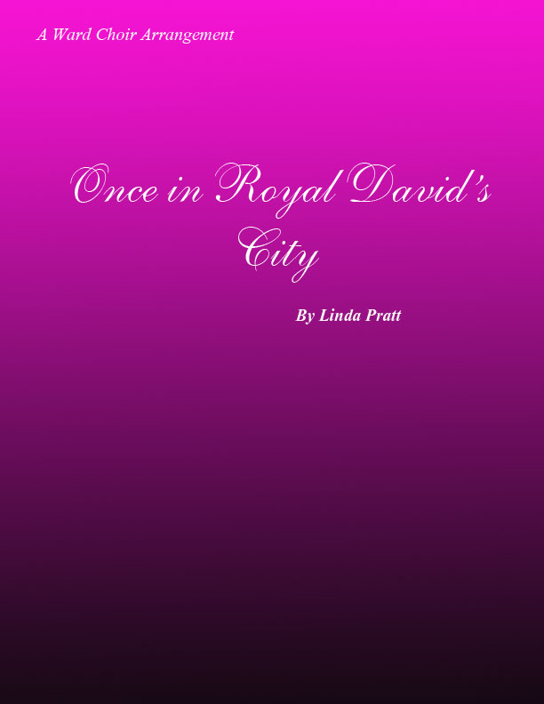 Once in Royal David\'s City SSA